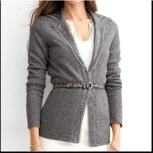 Hand Embellished sweater jacket